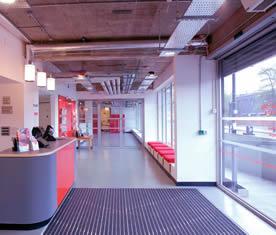 Resilient Polyurethane Resin Flooring Ecoflor